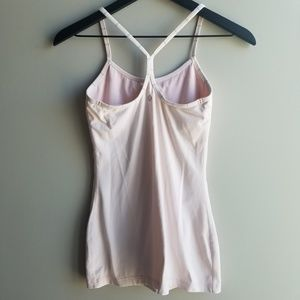 Lululemon Power Y Tank | Light Pink | S